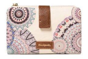 Desigual dámská béžová peněženka Mone S.T.A.Y. Pia Mini