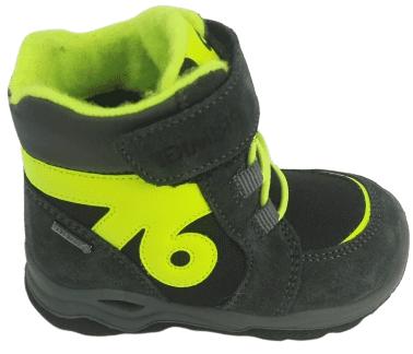 Primigi chlapecká zimní obuv 24 šedá/zelená