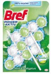 Bref ProNature Mint osvježivač WC školjke, 3x 50 g