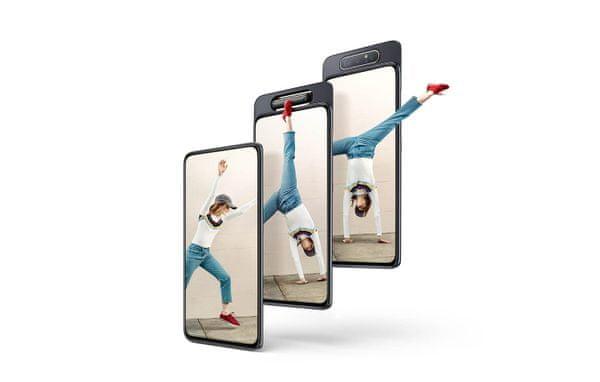Samsung Galaxy A80, otočný fotoaparát