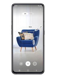 Samsung Galaxy A80, měření 3D objektů