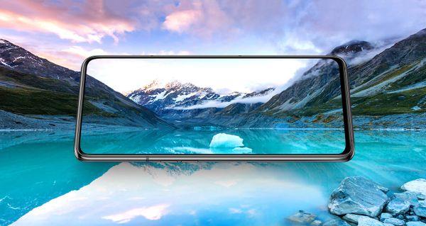 Samsung Galaxy A80, velký bezrámečkový displej, Super AMOLED, Full HD+, New Infinity