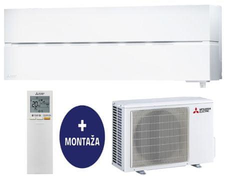 Mitsubishi MSZ-LN25VGW / MUZ-LN25VG stenska klimatska naprava + montaža