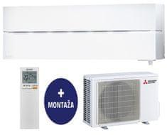 Mitsubishi stenska klimatska naprava MSZ-LN25VGW / MUZ-LN25VGHZ + montaža