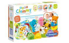 Clementoni Clemmy baby - kockák könyvvel, háziállatok