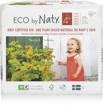 NATY Pelenkák Maxi+ (4+) (9-20 kg) 24 db