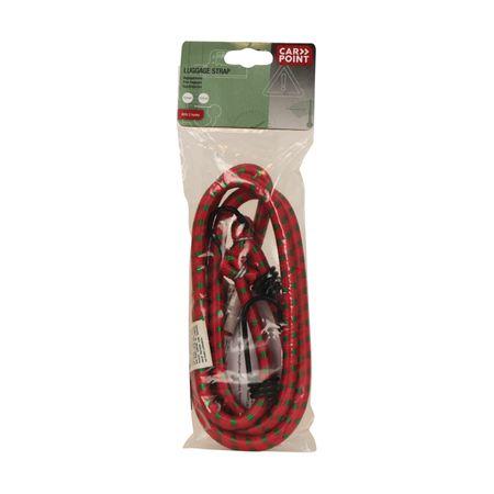 CarPoint elastična vrv, kavelj 10mm, 150cm, SLG/G