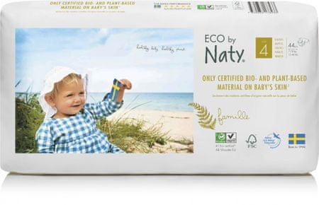 NATY 4 Maxi pelenkák ECONOMY PACK (7-18 kg) 44 db