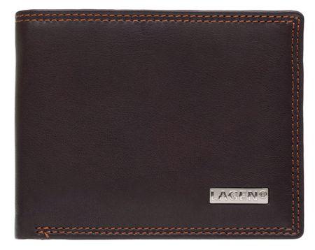 Lagen Férfi bőr pénztárca LG-1789 Brown