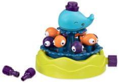 B.toys wieloryb tryskający wodą