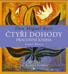 Ruiz Don Miguel: Čtyři dohody - pracovní kniha - MP3-CD