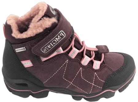 Primigi dívčí outdoorová obuv 30 bordó