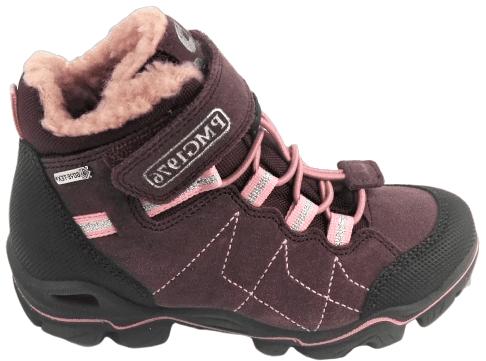 Primigi dívčí outdoorová obuv 35 bordó