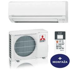 Mitsubishi stenska klimatska naprava MSZ-DM25VA / MUZ-DM25VA + montaža