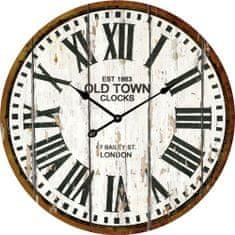 Postershop Nástenné sklenené hodiny: Old Town Clocks