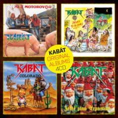 Kabát: Original Albums 4cd Vol.1 (4x CD) - CD