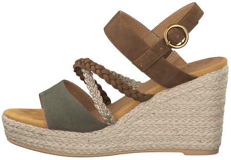 s.Oliver ženski sandali, 36, večbarvni