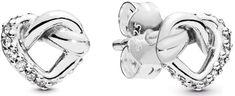 Pandora Ezüst szív fülbevaló 298019GB ezüst 925/1000