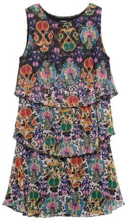 Desigual dámské šaty Vest Florencia S vícebarevná