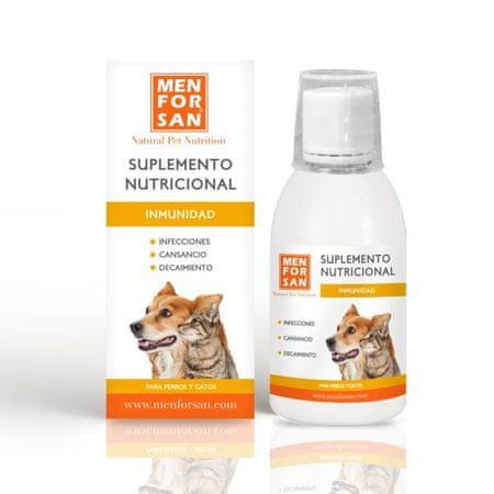 Menforsan Immunity prehransko dopolnilo za pse in mačke, 120 ml