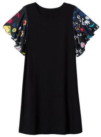 Desigual dámske šaty Vest Crisbell XS čierna