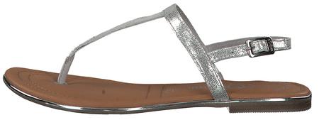 s.Oliver dámské sandály 36 stříbrná
