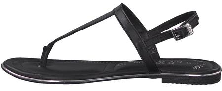 s.Oliver dámské sandály 41 černá