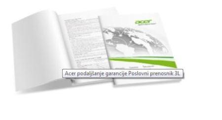Acer podaljšanje garancije na 3 leta, za Acer poslovne prenosne računaline
