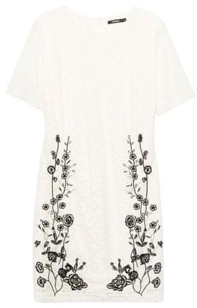 Desigual dámske šaty Vest Recreo 36 biela