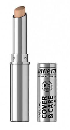 Lavera Prírodné tuhý korektor (Cover Stick) 4,5 g (Odtieň 03 med)