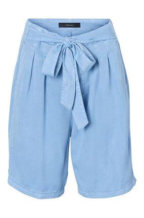 Vero Moda Ženske kratke hlače Mia HR, poletne Long Short s Light Blue Denim (Velikost XS)