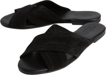 Pieces Marnie Suede szandál Black cipő (méret 37)