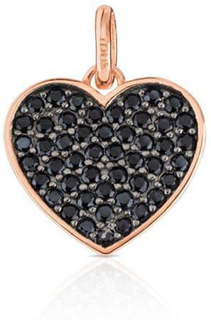 Tous Szív alakú medál kövekkel 414934510 ezüst 925/1000