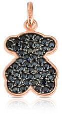 Tous Medvídkový přívěsek s kamínky 414934500 stříbro 925/1000