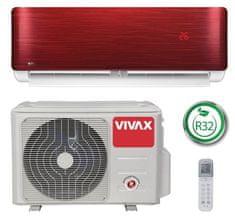 Vivax ACP-12CH35AERI, klima uređaj, crveni