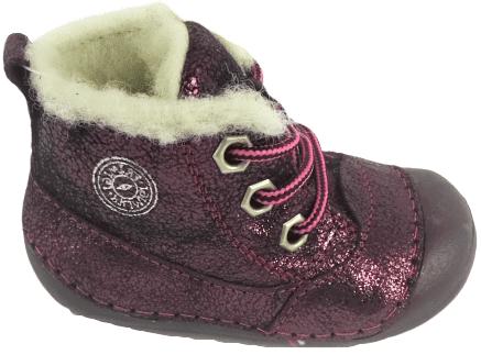 Primigi dívčí kotníkové boty 19 bordó