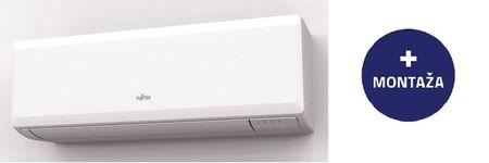 Fujitsu ECO 12KPCA, stenska klimatska naprava, z montažo