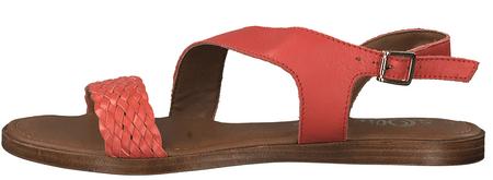 s.Oliver dámské sandály 36 červená