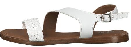 s.Oliver dámské sandály 41 bílá