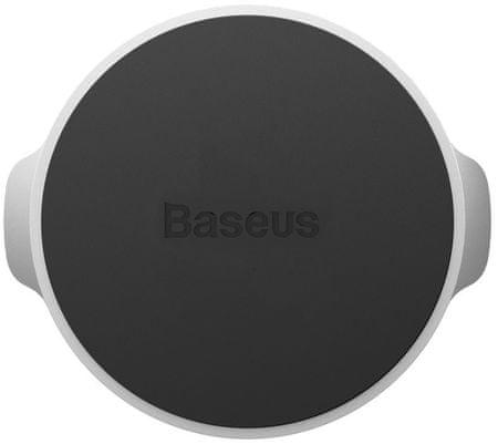 BASEUS Magnetyczny uchwyt na telefon Small Ears SUER-C0S, srebrny