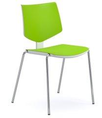 Emagra Jídelní židle LOOLA - zelená