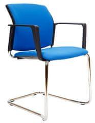 Emagra Jednací židle M5 - lyžiny celočalouněná