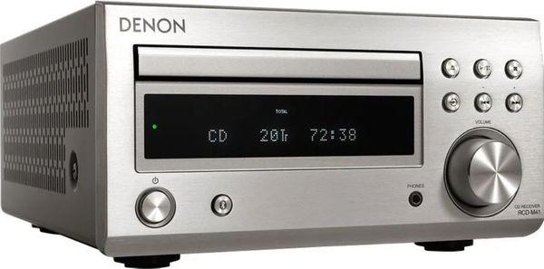 minisystém Denon RCD-M41dab cd mechanika bluetooth bezdrôtové pripojenie polk signature reproduktory
