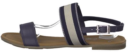 s.Oliver dámské sandály 41 tmavě modrá