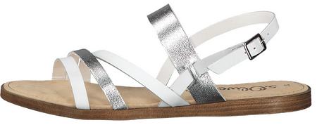 s.Oliver ženski sandali, 41, beli