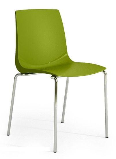 Emagra jídelní židle ARI - zelená