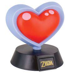 Paladone The Legend Of Zelda Heart Container 3D Light, stolna svjetiljka