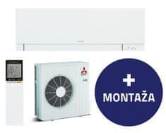 Mitsubishi MSZ-EF50VGW / MUZ-EF50VG stenska klimatska naprava + montaža