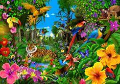Blue Bird Jungle Sunrise 1500 dielikov