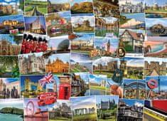 EuroGraphics Puzzle 1000 db Globetrotter United Kingdom